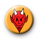 The Devil 666 Halloween Badges