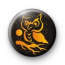Orange Halloween Owl Badges