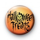 Halloween Treats Pin Badge