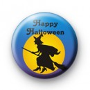 Happy Halloween Witch Badge