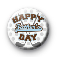 Happy Fathers Day Golfing Badge