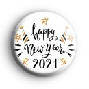 Celebrate 2021 Happy New Year Badge
