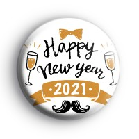 Happy New Year 2021 Party Badge