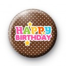 Happy Birthday Celebrate Badges