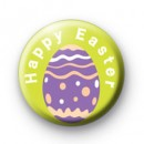 Happy Easter Eggs Badge