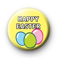 Easter Eggs Happy Easter Badges