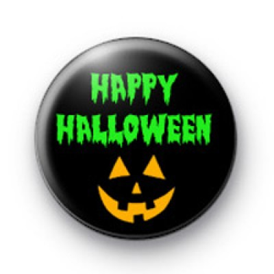 Happy Halloween badges