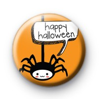 Happy Halloween Spider Badges
