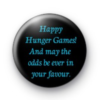 Happy Hunger Games Badge