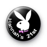 Hannah's 21st badges