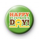 Celebrate St Patrick's Day 2012 badge