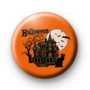 Spooky Halloween Haunted House badge