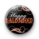 Haunting Happy Halloween Badge