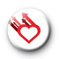 Heart and Arrows Badge