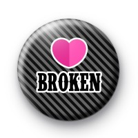 Heart Broken Button Badge thumbnail