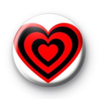 Heart Red Heart badges
