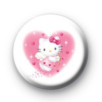 Pink Hello Kitty badges