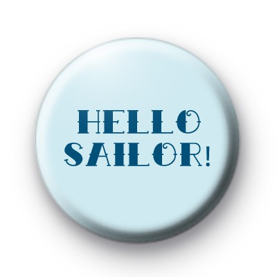Hello Sailor Blue badge