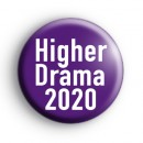 Higher Drama 2020 Badge