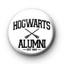 Hogwarts Alumni Button Badge