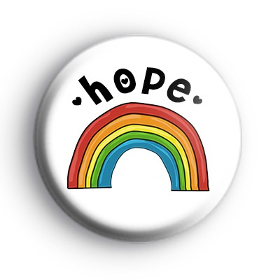 Hope Rainbow Badge