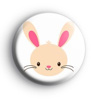 Hop On Easter Bunny Button Badges