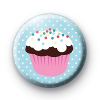 Hundreds and Thousands Cupcake Badge