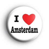 I Love Amsterdam Badge