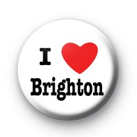 I Love Brighton Badge