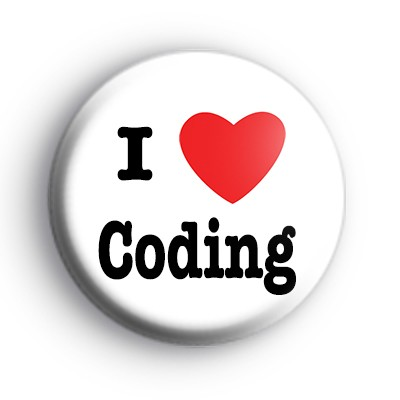 I Love Coding Badge