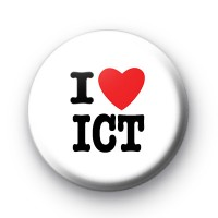 I Love ICT badge
