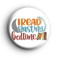 I Read Past My Bedtime Badge
