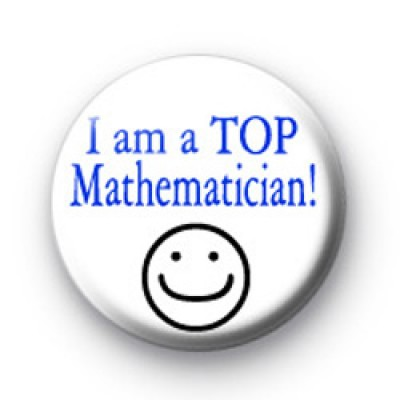 I am a TOP Mathematician badge
