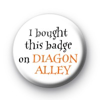 Diagon Alley Badge Harry Potter badges