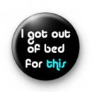 Out of Bed badges