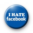 I Hate Facebook Button Badges