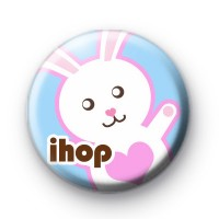 iHop Easter Bunny Button Badges