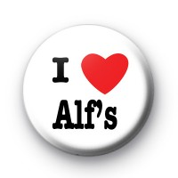 I Love Alf's Button Badges