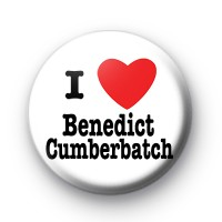 I Love Benedict Cumberbatch Badge