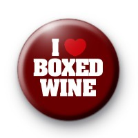 I Love Boxed Wine badge