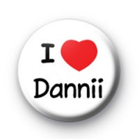 I Love Dannii Badges