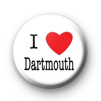 I Love Dartmouth Badges