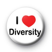 I Love Diversity badge