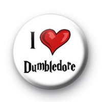 I Love Dumbledore badges