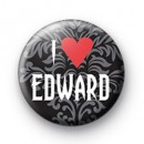 I Love Edward Cullen 2 badge