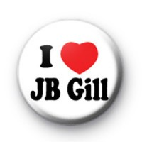 I Love JB Gill JLS Button Badges
