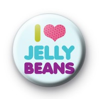 I LOve Jelly Beans Button Badges