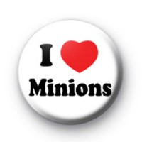 I Love Minions Badge