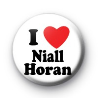 I Love Niall Horan Badges