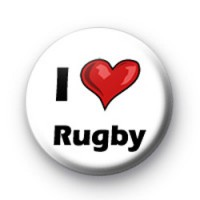I Love Rugby badges